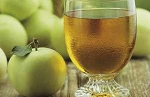 Refresco de manzana con canela